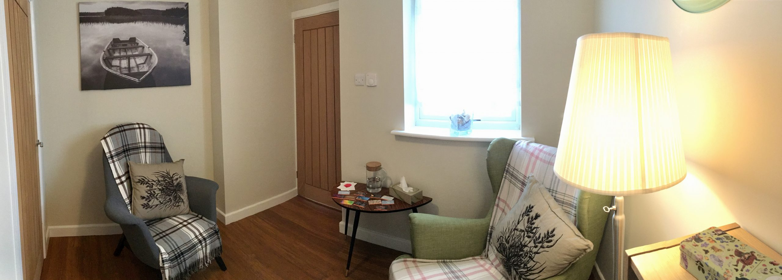 confidentiality and privacy in dedicated therapy room